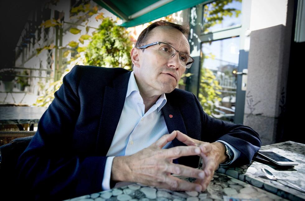 SV-VELGERE: Espen Barth Eide mener han kan trekke velgere som ellers ville søkt til MDG og SV. Foto: Bjørn Langsem / Dagbladet