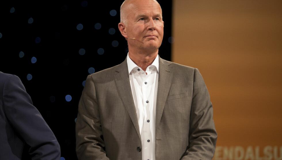 VIL ENDRE LOVVERKET: Helsedirektør ved Helsedirektoratet Bjørn Guldvog. Her under helsedebatt under Arendalsuka. Foto: Torstein Bøe / NTB scanpix