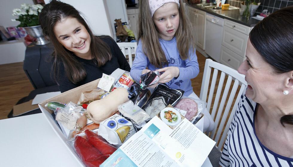 <strong>UKEMENY PÅ DØRA:</strong> Det er mange som vil levere middag hjem til deg. I høst blir det enda mer fleksibelt. Illutrasjonsfoto: Gorm Kallestad / NTB scanpix