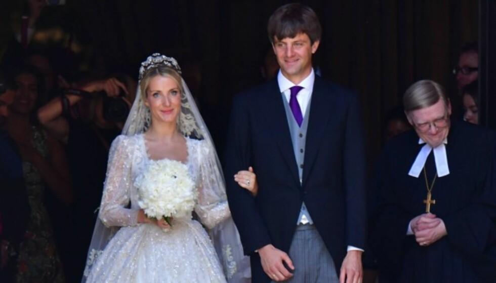 LOT SEG IKKE STOPPE: Kongelige fra hele Europa var gjester da Ernst August Jr. og Ekaterina Malysheva giftet seg i Hannover. Men verken prins Ernst August eller prinsesse Caroline var å se. Foto: NTB Scanpix