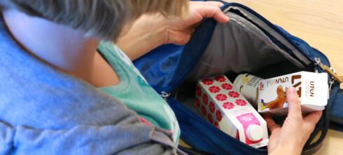 Er skolemelka og yoghurten med hjem? Se om de fortsatt er brukbare