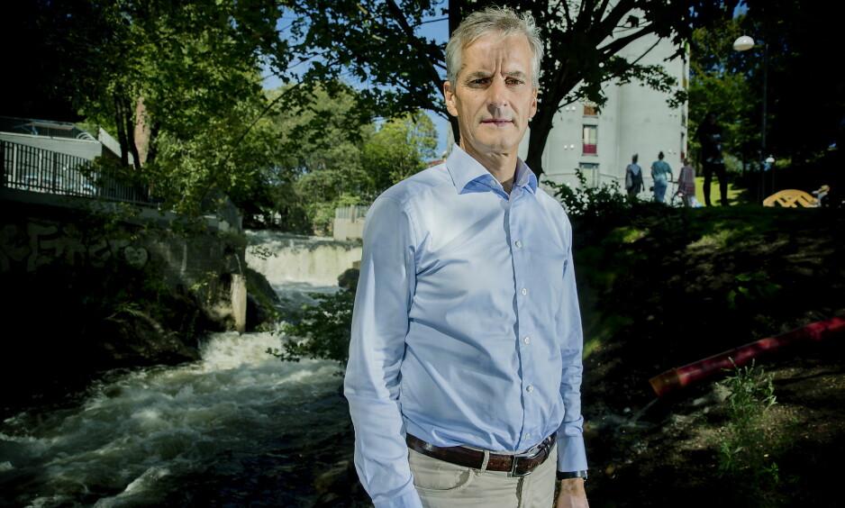 BRYGGE-BRÅK: Arbeiderpartileder Jonas Gahr Støre mener han har gjorde det som kan forventes av en privatperson da han reparerte sin brygge i 2011. Foto: Bjørn Langsem