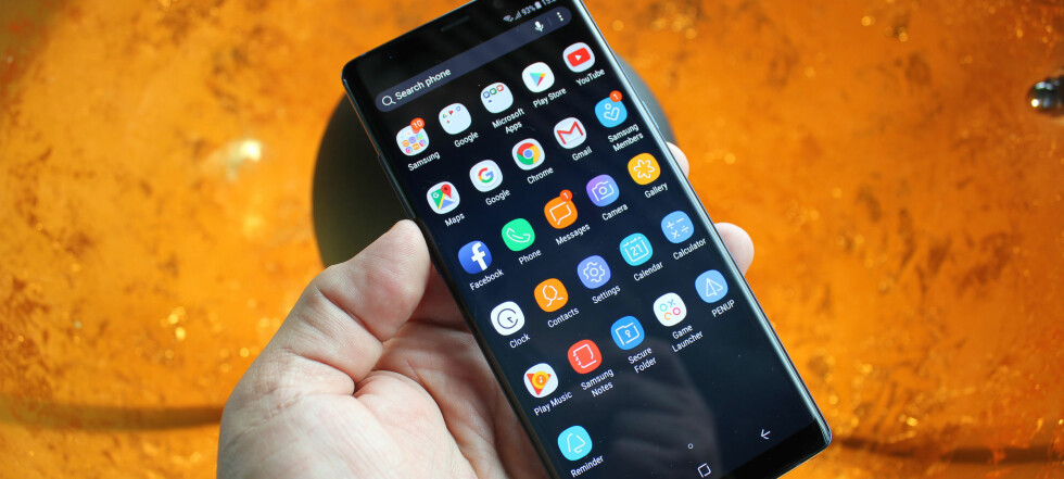 Sjekk ut Samsungs vanvittige nye toppmobil