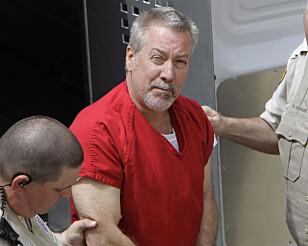 <strong>I FENGSEL:</strong> Politimannen Drew Peterson ble i 2009 dømt til fengsel for drapet på sin tredje kone Kathleen Savio, som ble funnet død i et tørt badekar. Hans fjerde kone forsvant i 2007, og er fremdeles ikke kommet til rette. Foto: M. Spencer Green / NTB Scanpix