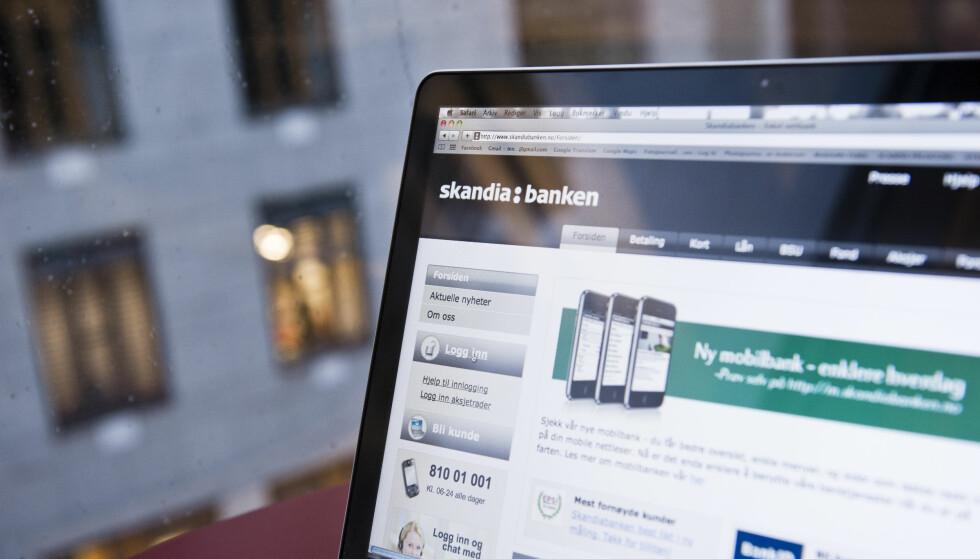 NETTBANK: Med nettbank kunne jeg plutselig betale regninger utenom kø og kontortid, skriver Heidi Nordby Lunde. Foto: Aleksander Andersen / Scanpix