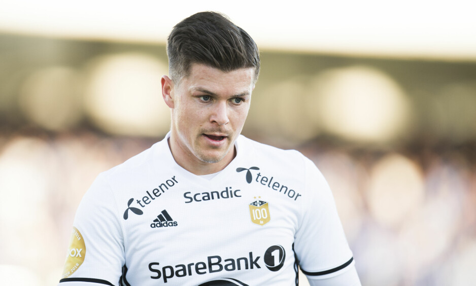 SCORET: Rosenborgs Pål André Helland. Foto: NTB Scanpix