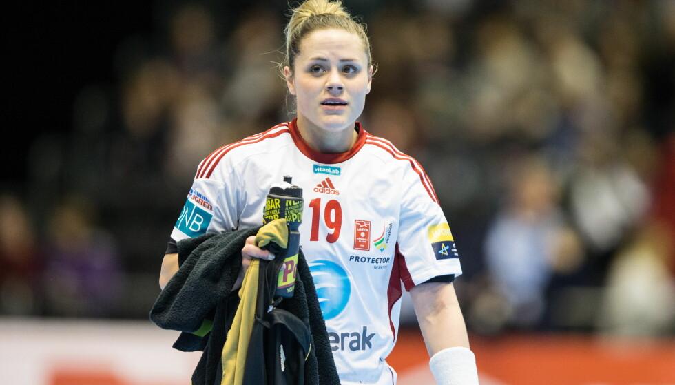 VIKTIG: Larvik og Thea Mørk vant en viktig kamp og passerte Vipers på tabelltoppen. Foto: Audun Braastad / NTB scanpix