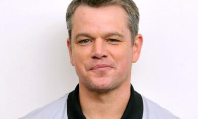 <strong>Trump-tull:</strong> Matt Damon er kritisk til Trumps cameo-bonanza. Foto: NTB scanpix