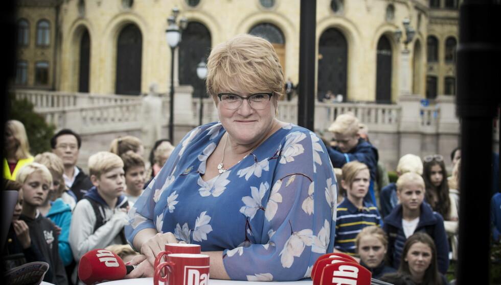 IMOT KULTURLØFT: Arbeiderpartiet vil tilbake til å bruke en prosent på kultur, som under kulturløftet fra 2005 til 2013. Det er Trine Skei Grande (V) imot, og ønsker i stedet et «motkulturløft». Foto: Hans Arne Vedlog / Dagbladet