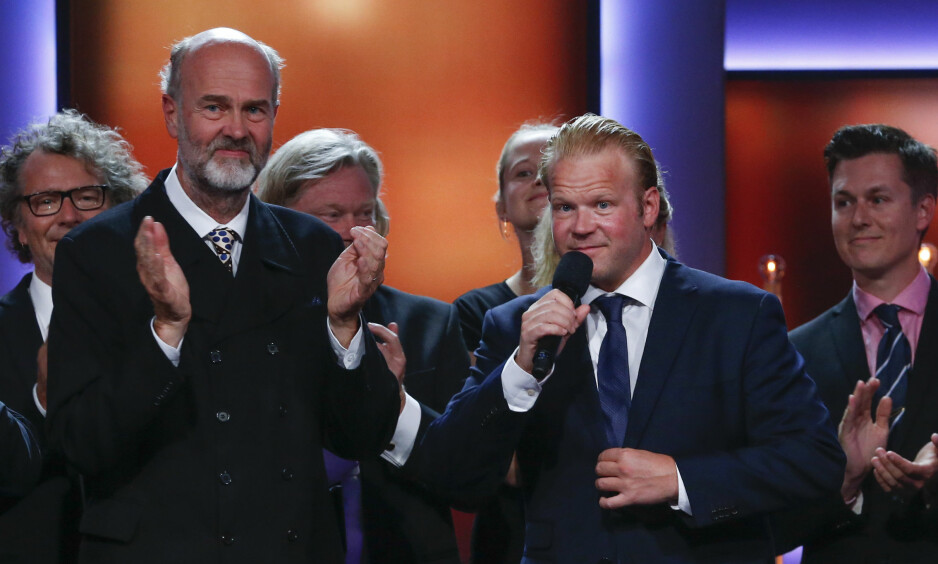STORESLEM: Erik Poppes «Kongens nei» med Anders Baasmo Christiansen ble kåret til «Beste norske kinofilm» under årets Amandapris-utdeling i Haugesund. Filmbransjens kritikk mot Amandapris-statutten handler ikke om at filmen fikk prisen. Foto: Scanpix