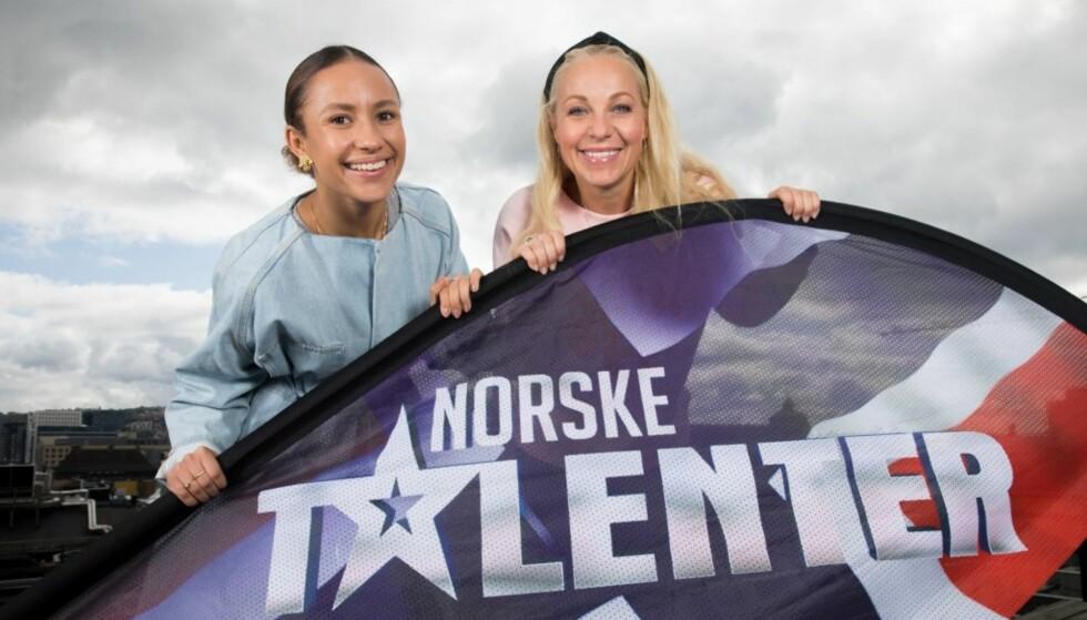 NÅLØYET: Skal man komme videre i årets sesong av «Norske talenter», må blant andre disse damene gi deg tommelen opp. Foto: TV 2