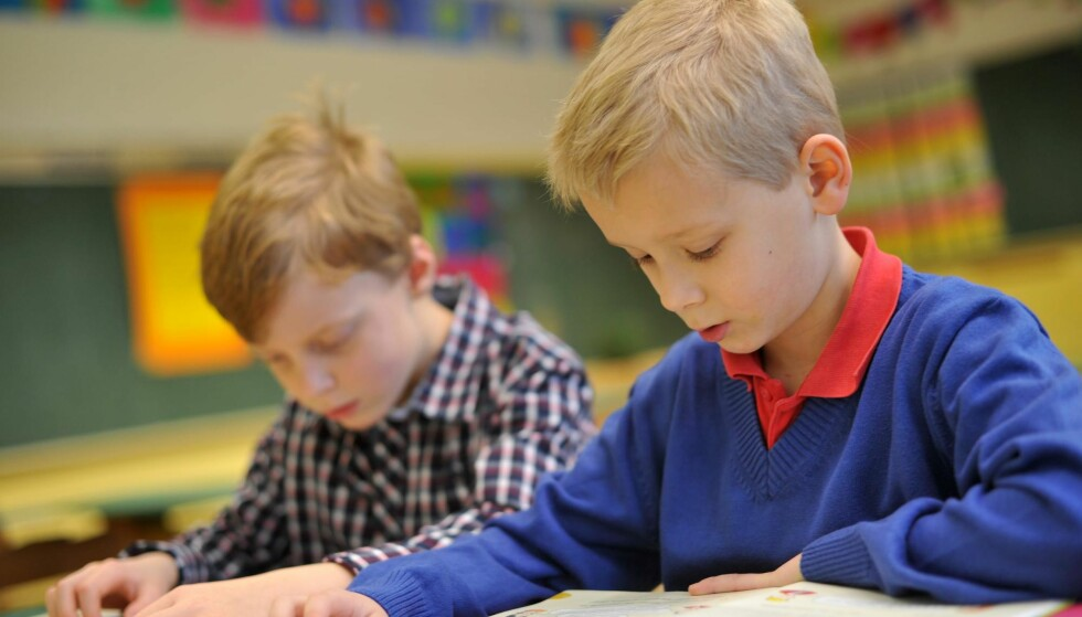 ØKT PRESS: Vi er bekymret for hvordan en stadig økende testkultur og et tiltakende prestasjonspress i skolen kan skade barns fysiske og psykiske helse, på kort og lang sikt, skriver kronikkforfatterne. Foto: Frank May / NTB Scanpix