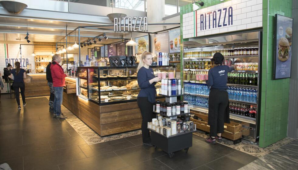 <strong>RITAZZA:</strong> Hyggelig café, men bakervarene skuffer.
