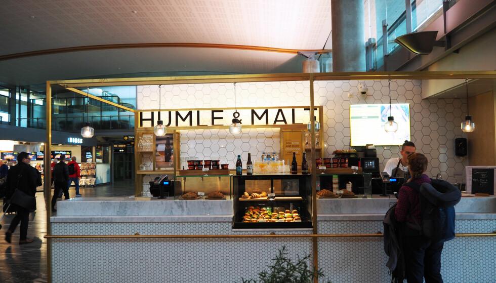 <strong>SIGNAL:</strong> Navnet Humle &amp; Malt signaliserer klart at øl spiller en viktig rolle på menyen.