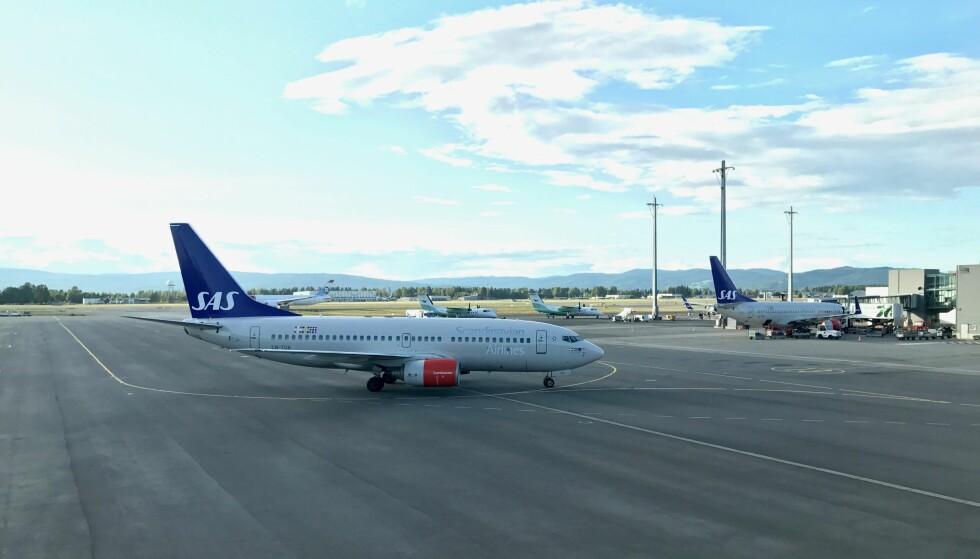 I STREIK: Flyselskapet SAS har tatt ut alle sin piloter i streik. Da er det greit å vite hva som er dine rettigheter. Foto: Odd Roar Lange/The Travel Inspector