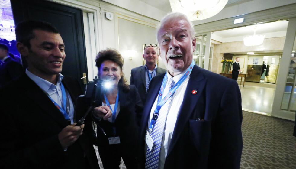 Carl I. Hagen er en av Frps kandidater for nobelkomiteen. Foto: Bjørn Langsem / Dagbladet