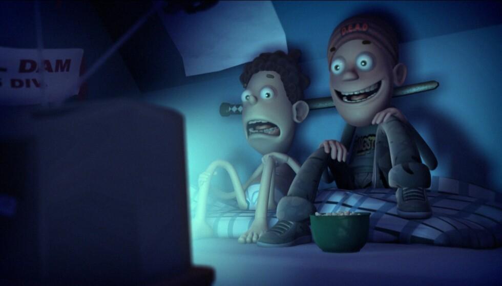 TERKEL - IGJEN: Animasjonsfilmen «Terkel i knipe» fra 2004, som underholdt både barn og voksne, får sin etterlengtede oppfølger. Foto: Nordisk Film