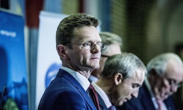 BLIR PÅ STORTINGET? Nestleder i Venstre, Terje Breivik. Foto: Thomas Rasmus Skaug / Dagbladet