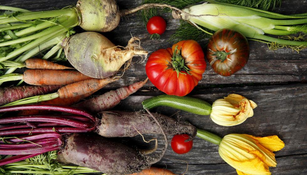 Kjærlighet: Et tilsynelatende paradoks ved kjærligheten til grønnsaker, er at den er sterkest blant kjøttetere. Foto: Mette Randem
