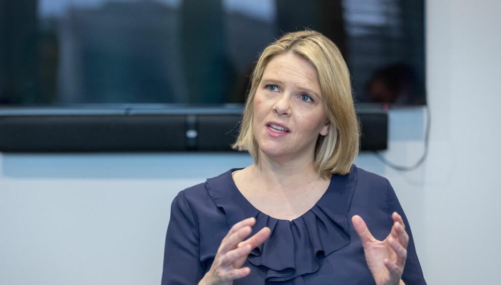 BREV: EU har sendt et brev til innvandringsminister Sylvi Listhaug (Frp) der hun oppfordres til å øke innsatsen for kvoteflyktninger. Foto: Gorm Kallestad / NTB scanpix
