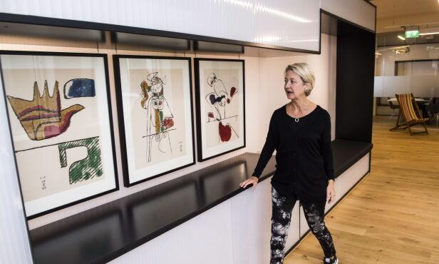 KAN IKKE UTELUKKE: Hilde Barstad, direktør i Kulturetaten i Oslo, forklarer at de ikke kan utelukke hundre prosent at den kunsten de ikke har oversikt over, kan være tapt av en eller annen grunn. FOTO: Lars Eivind Bones / Dagbladet