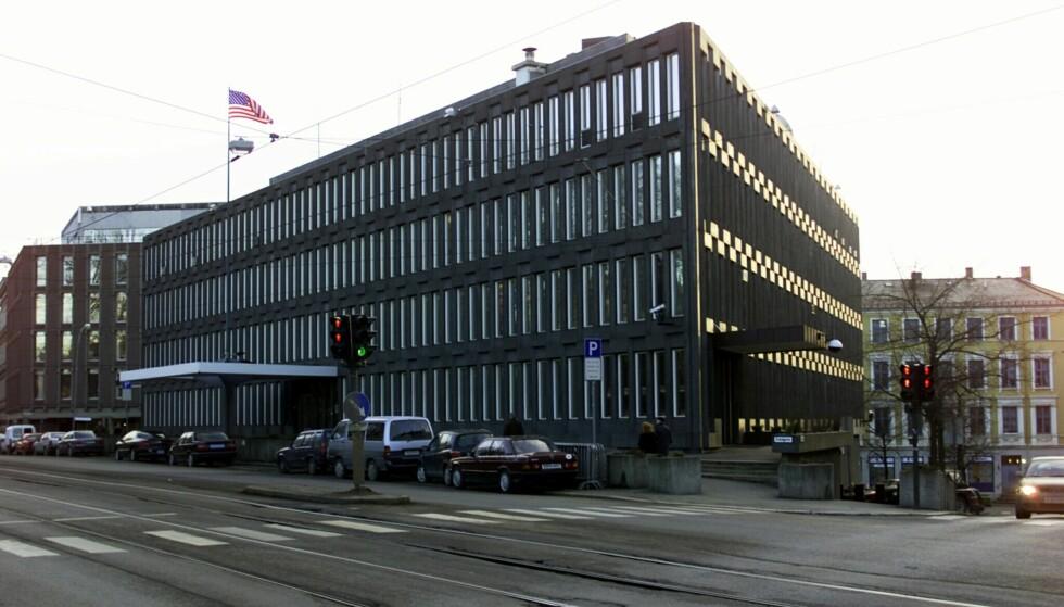 AMBASSADE: Den tidligere amerikanske ambassaden i Henrik Ibsens gate i Oslo. Foto: Cornelius Poppe / NTB Scanpix