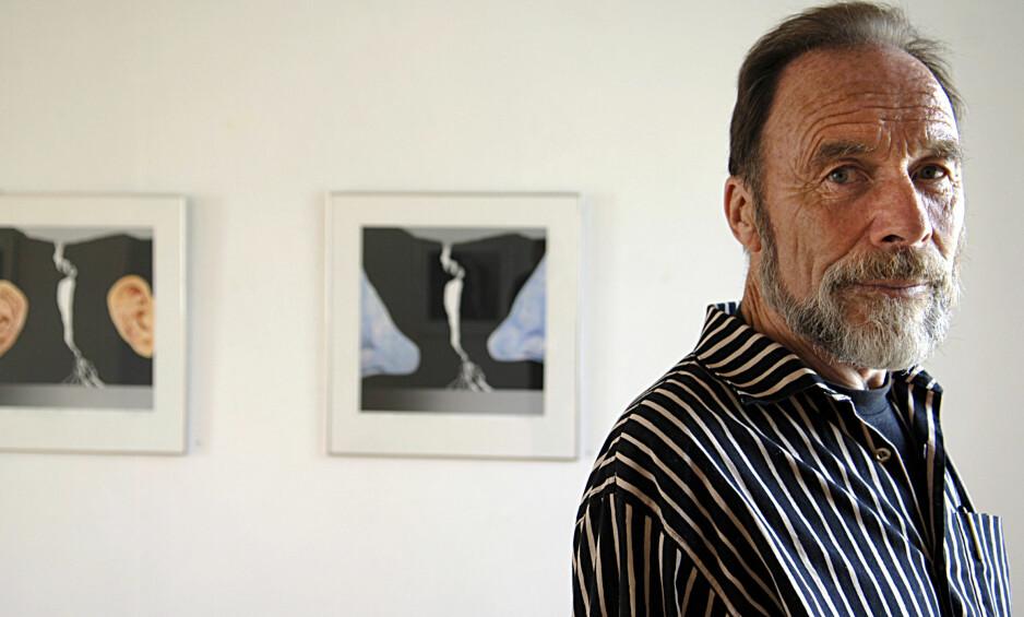 GIKK BORT: Den anerkjente kunstneren Per Kleiva er død. Foto: Vidar Ruud / NTB scanpix