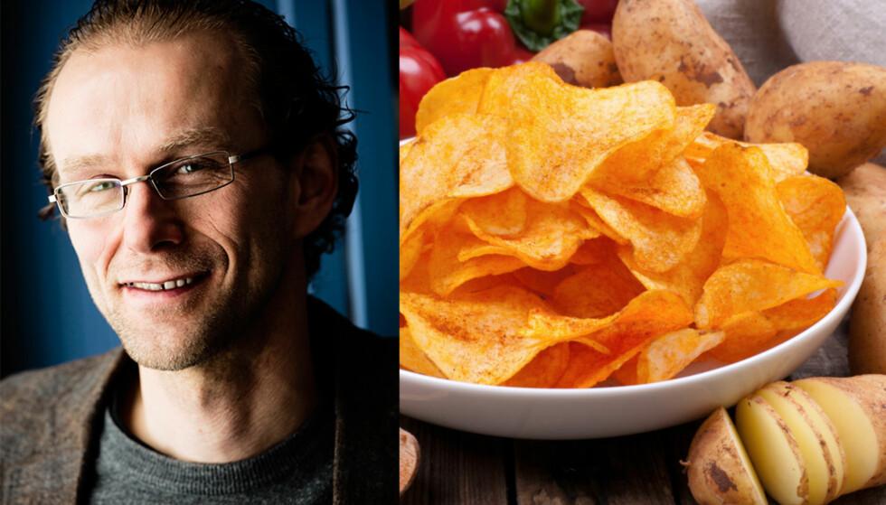 EKSPERT: Professor Birger Svihus har stor kompetanse rundt matens påvirkning på helsa vår. Foto: Gisle Bjørneby/NTNU og NTB SCANPIX