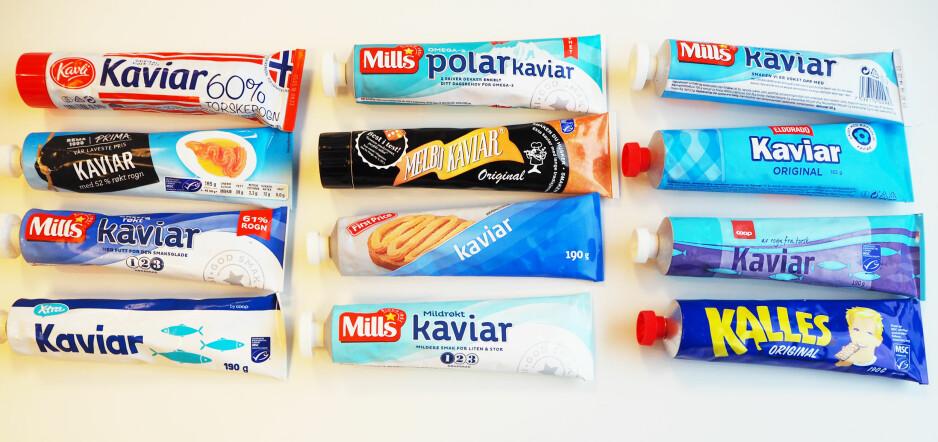 TUBETEST: Norges eldste produsent av kaviar på tube gikk av med seieren i vår smakstest. Foto: Dagbladet