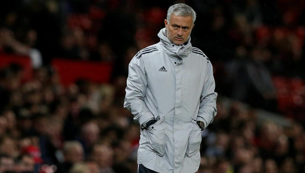 SKRYTER: Manchester United-manager Jose Mourinho skryter av sin nye stjernespiller Alexis Sanchez. Foto: REUTERS/Andrew Yates