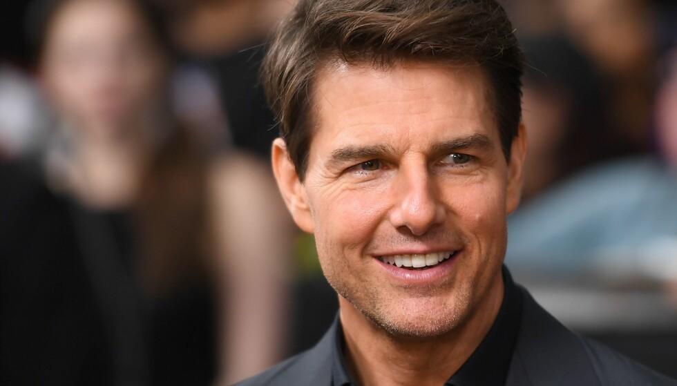 I NORGE: Tom Cruise bor etter all sannsynlighet i Tore Christiansens bolig under innspillingen av «Mission Impossible 6»-scenene som tas opp i Norge. Foto: NTB Scanpix
