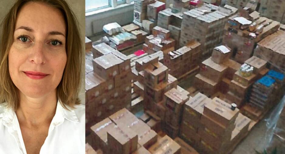 AVSLØRTE OMMERKING: - Omfanget virket stort, bekrefter avdelingssjef Marit Kolle i Mattilsynet. Foto: Mattilsynet/Politiet