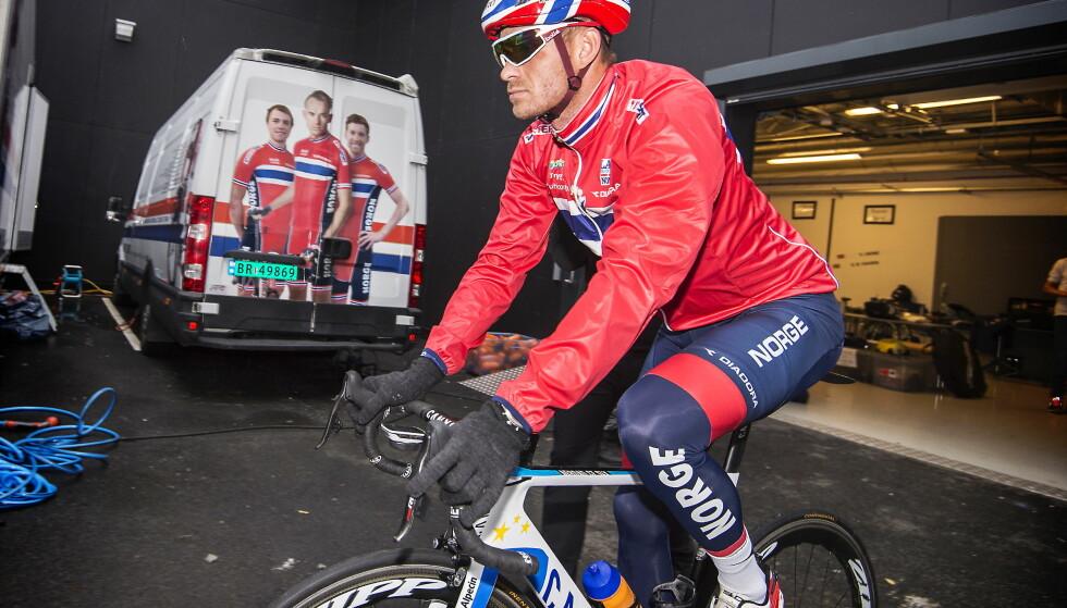 SLITER: Alexander Kristoff er til å stole på i sykkelsportens store anledninger.  Foto: Hans Arne Vedlog / Dagbladet