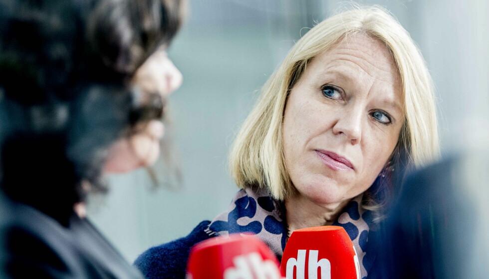 FÅR TOPPJOBB: Anniken Huitfeldt får fortsette som leder av utenriks- og forsvarskomiteen i Stortinget, dersom det fortsatt er hennes førstevalg. Huitfeldt som er en av Aps mest erfarne politikere, vil uansett få verv som fraksjonsleder. Hva partiledelsen skal gjøre, er avklart, men det gjenstår en krevende kabal der kjønn, distrikt og faglige interesser og ønsker skal gå opp.Foto: Thomas Rasmus Skaug / Dagbladet