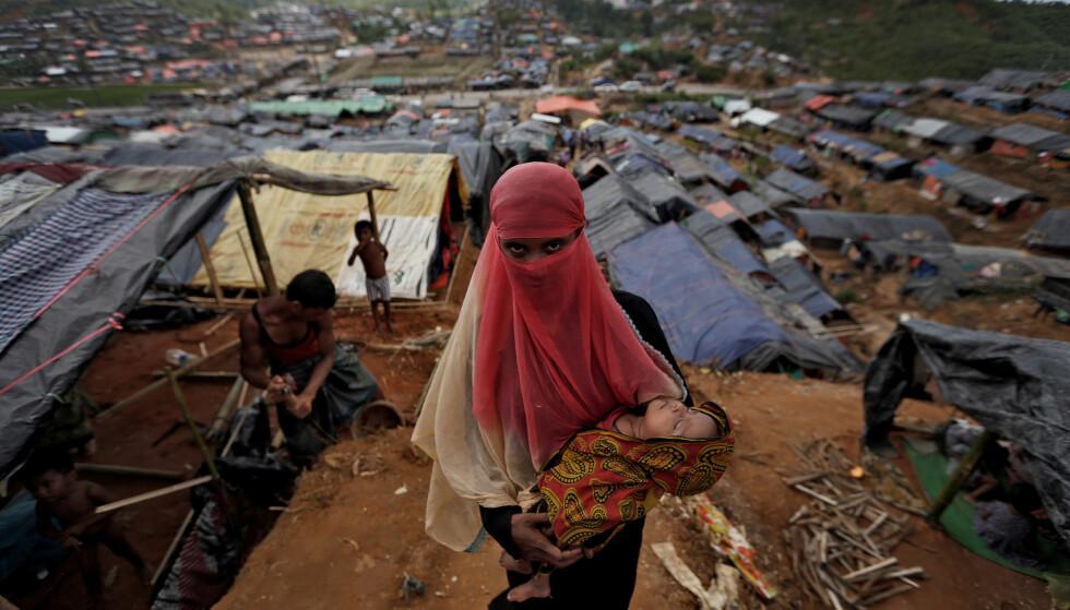 «ETNISK RENSNING»: FN karakteriserer den humanitære katastrofen som utspiller seg i delstaten Rakhine i Myanmar som «etnisk rensning». Siden slutten av august har over 500 000 mennesker fra rohingya-minoriteten i Myanmar flyktet til Bangladesh. Foto: Reuters / NTB Scanpix