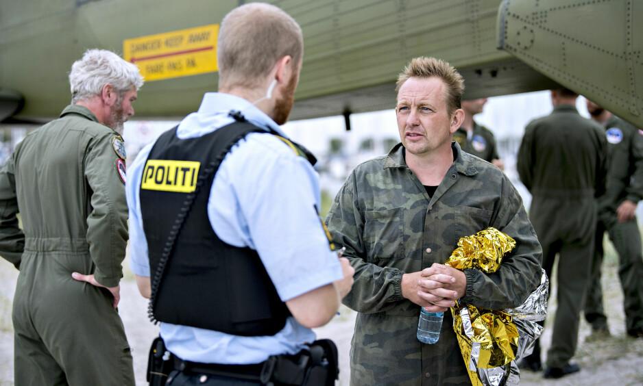 TILTALT: Peter Madsen (47) er tiltalt for drap på den svenske journalisten Kim Wall. Han nekter straffsskyld etter tiltalen. I morgen starter rettssaken. Foto: Bax Lindhardt / Scanpix Danmark / NTB scanpix