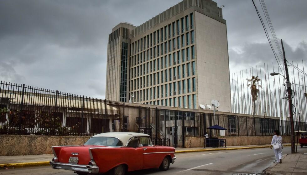 «SONISKE» ANGREP: 22 ansatte ved USAs ambassade i Havanna, de fleste av de etterretningsfolk, har fått uforklarlige helseplager som følge av et angivelig lydangrep. Foto: AP / NTB scanpix