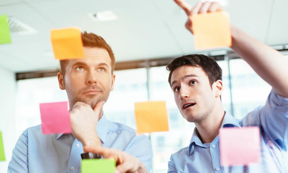 PLANMESSIGHET: Planmessighet regnes som den personlighetsfaktoren som best predikerer leveringsdyktighet på jobb. Foto: NTB scanpix