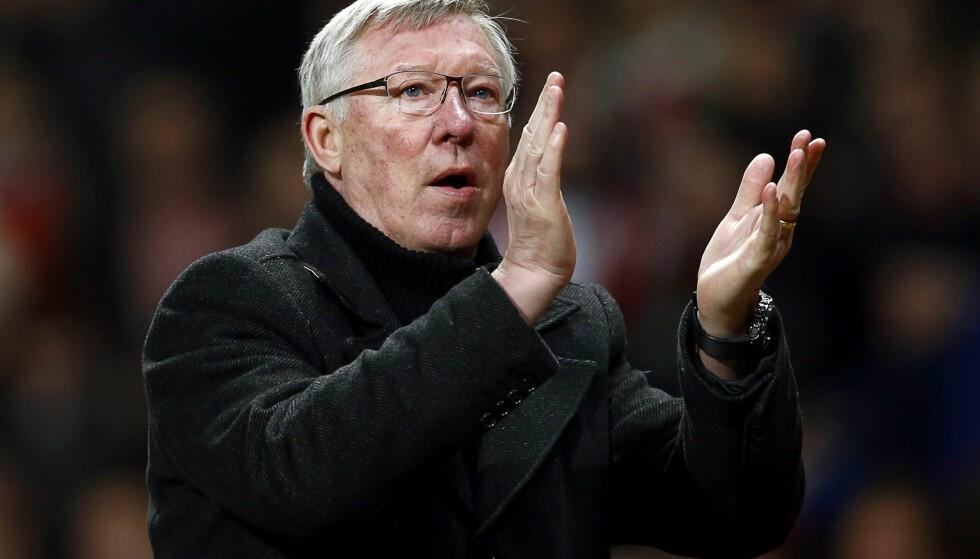 KLUBBLEGENDE: Sir Alex Ferguson løftet Manchester United til å bli den mest suksessfulle klubben i Englands moderne fotballhistorie. Foto: NTB Scanpix