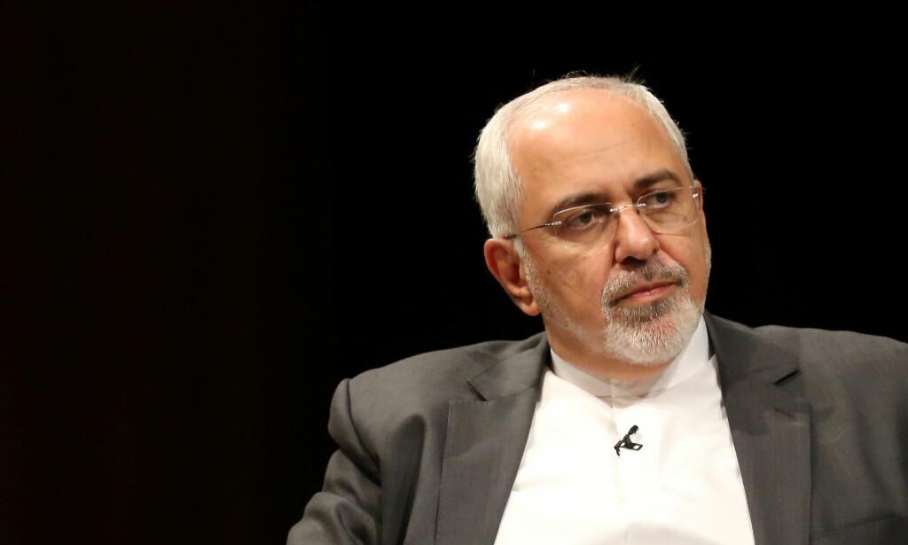 IRANS UTENRIKSMINISTER: Mohammad Javad Zarif. Foto: Bria Webb / Reuters / Scanpix