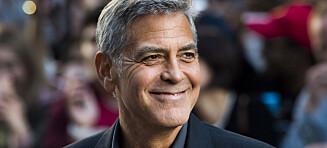 George Clooney tordner mot Harvey Weinstein: - Det er helt uakseptabelt