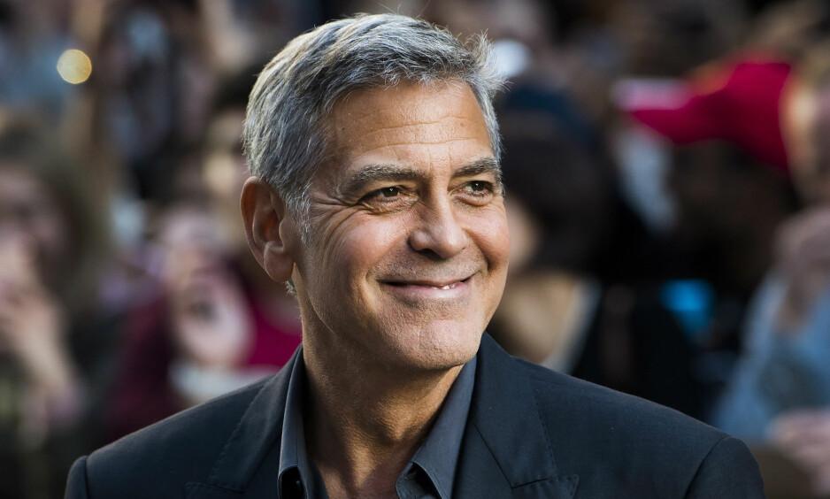 KJENT LENGE: George Clooney har kjent Harvey Weinstein i 20 år. Foto: Nathan Denette / The Canadian Press / AP