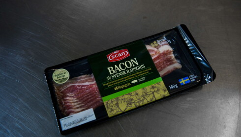 LITT FOR SALT: Bortsett fra at man kunne vært mindre sjenerøs med saltet, er Scan bacon av rapsgris et godt produkt.