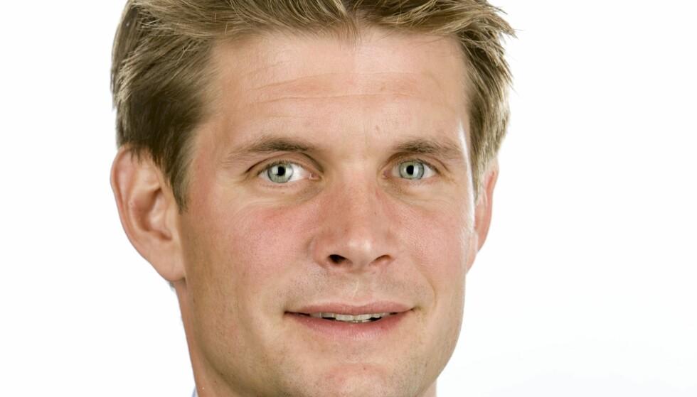 RASK PÅ LABBEN: Nicolay Bruusgaard i Ringnes er glad for at ingen er blitt syke. Foto: Ringnes