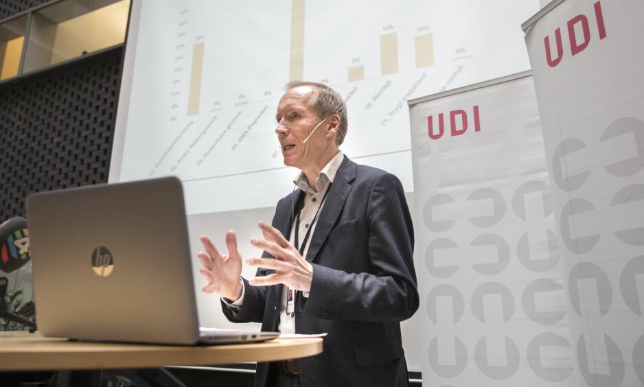 UDI-SJEF: Frode Forfang, direktør i UDI. Foto: Terje Bendiksby / NTB Scanpix