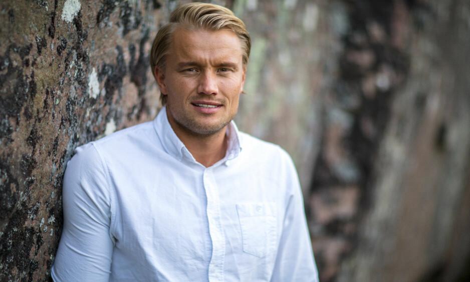 REISTE HJEM: Etter knappe tre uker på «Farmen» velger deltakeren Mats Beylegaard Brennemo (28) å trekke seg fra programmet. Foto: Alex Iversen / TV 2