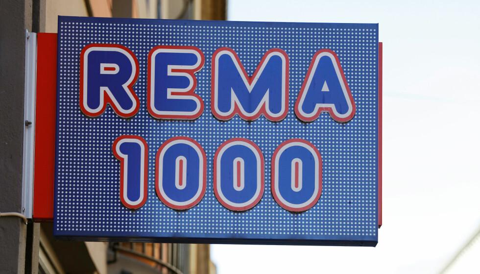 VANT PRIS: I går ble Rema 1000 kåret til Danmarkes beste matbutikk. Foto: NTB Scanpix