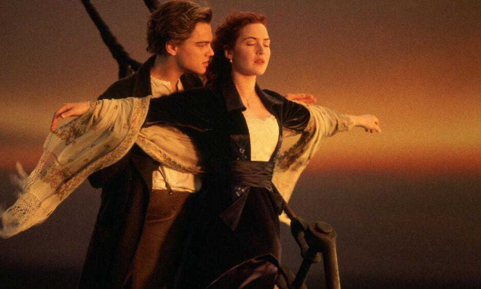 KLASSIKER: «Titanic» er en klassiker, 20 år etter, fortsetter den å berøre oss. Filmen ble det gjennombruddet for Kate Winslet og Leonardo DiCaprio. Foto: 20th Century Fox
