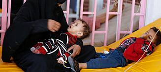 Mens Norge selger ammunisjon til en part i krigen, slår Jemens kolerautbrudd alle rekorder