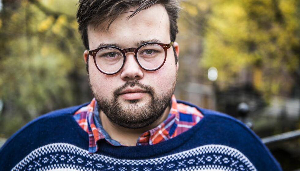 <strong>PÅ SYKEHUS:</strong> Jørgen Foss forteller at han ble brutalt overfalt og ranet i USA. Han ble fraktet til sykehus etter hendelsen. Foto: Endre Vellene